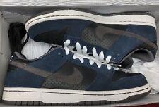 uk availability 230ca 117e4 2009 Nike Dunk Low Pro SB Osidian Blue Midnight Blue Fog Black White Grey  Sz 9