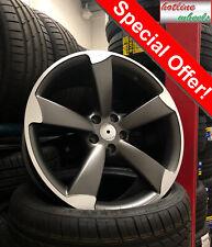 17 alloy wheels Audi a3 a4 a6 a8 Tt Vw Seat Skoda 5x112 rotor Tyres 2254517