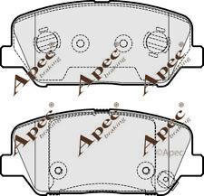 FRONT BRAKE PADS FOR HYUNDAI I30 CW GENUINE APEC PAD1953