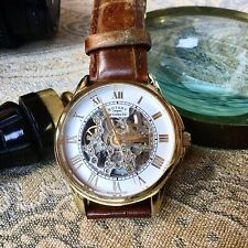 Rotary. Automatic skeleton mens watch, Rotary strap, working