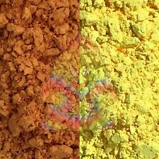 Ultra Thermal Dust! - Orange to Yellow Thermochromic Color-Changing heat pigment