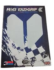 R&G EAZI-GRIP Motorcycle Traction Tank Grip Pads Universal Fit Clear (Pair)