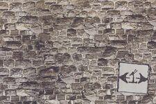 Embossed Stone Sheet  57700  Noch wallpaper dollhouse miniature 1pc 1/12 scale