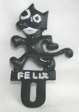 cool FELIX THE CAT metal License Plate TOPPER xtra-cool