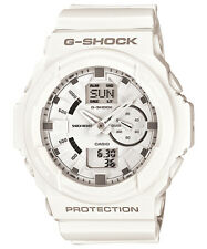 CASIO GA-150-7A G-SHOCK Ana-Digi Resin Strap White