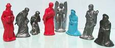BARCLAY TOYS HOLLOW CAST LEAD UNPRODUCED PROTOTYPE NATIVITY FIGURES EXCELLENT