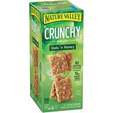 Nature Valley Crunchy Oats n Honey Granola Bar 98ct