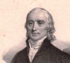 Portrait XIXe Roland de La Platière Thizy Révolution Française