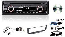 BLAUPUNKT MANCHESTER Autoradio CD MP3 USB SD für SMART FOR TWO A450 Grau
