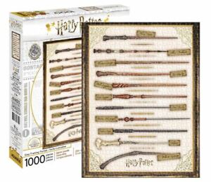 Harry Potter Wands 1000 piece jigsaw puzzle 690mm x 510mm  (nm)