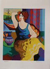 "Patricia Govezensky ""Gloria"" Hand Signed and Numbered Serigraph Art COA | LE"