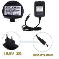 EU-Stecker Netzteil Netzadapter AC100-240V auf/zu DC 13.5V 2A Adapter 5.5X 2.5mm