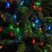 80 LED MULTI interni esterni decorazione di Natale LANTERNA LUCI ALBERO