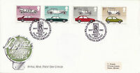 13 OCTOBER 1982 BRITISH MOTOR CARS ROYAL MAIL FIRST DAY COVER ROLLS ROYCE SHS