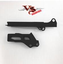 Polisport Guía De Cadena & Control Deslizante Kit Suzuki RMZ250 12-17 Negro
