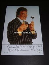DAVID DICKINSON SIGNED PHOTO DICKINSON'S REAL DEAL TV