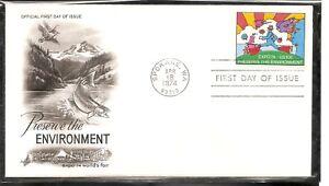 US SC # 1527 Expo 74 FDC. Artcraft Cachet