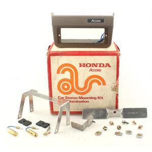 Honda Accord Car Stereo Mounting Kit With Illumination NOS 08118-67176