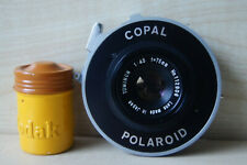 Polaroid Copal shutter with Tominon 1:4.5 f=75mm
