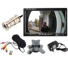 Kit di sorveglianza con telecamera a spioncino CMOS e monitor