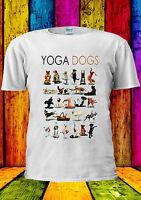 Yoga Dogs Funny Gym Pug T-shirt Vest Tank Top Men Women Unisex 2209