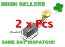 10 Pieces Grey 44# Electric Motor Carbon Brushes Replacement Repair Part