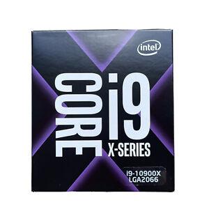 Intel Core i9-10900X X-Series Processor, 3.7 GHz, 10-Core, BX8069510900X