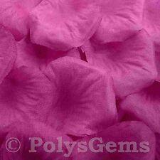 400 LARGE PURPLE SILK ROSE PETALS WEDDING PARTY DECORATIONS