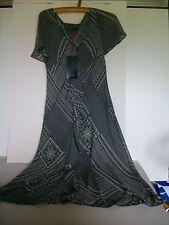 Marks and Spencer Polyester V-Neck Midi Dresses for Women