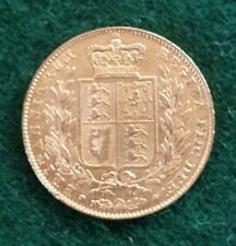1844 Young Head Victoria Gold Sovereign
