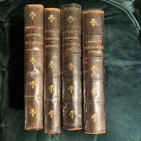 Les Oeuvres De Francois Rabelais. 4 VOLL. Edizione De La Sirena 1919