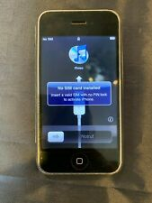 Used Apple iPhone 1st Generation - 8GB - Black (AT&T) A1203 (GSM)