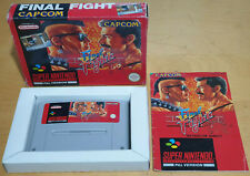 FINAL FIGHT for SUPER NINTENDO SNES RARE & COMPLETE PAL UKV Capcom