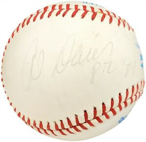 "Alvin Davis Autographed Signed AL Baseball Mariners ""PTL '84"" Beckett X12691"