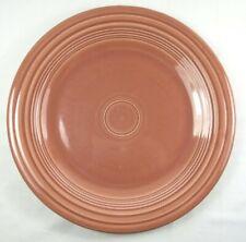 """Vintage Fiesta Fiestaware Homer Laughlin Dinner Plate 1950s Rose Pink 10.25"""""""