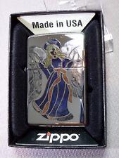 """Zippo  """" ANGEL 2"""" - Chrome polished - NEU & ovp - #615"""