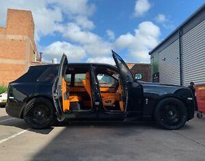 """Rolls Royce Cullinan FORGED alloy wheels 24"""" Forgiato Trimestre M"""