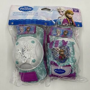 Disney Frozen Protective Gear Knee Pad Elbow Pad Gloves Age 3+ Ana Elsa Olaf