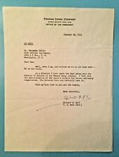 New ListingRare! Richard E. Byrd Explorer typed signed letter - d.1/22/1954 - Autograph