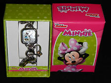 MINNIE MOUSE MOTHER-of-PEARL DIAL CHARM WATCH