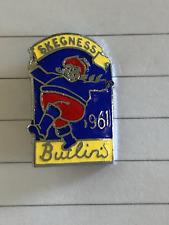 More details for vintage dancing man 1961 butlin's skegness enamel pin badge by reeves & co ltd