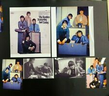 BEATLES LOT OF 6 MAKING TRUNK SESSION SIGNED PHOTOS--BUTCHER COVER TODAY 213