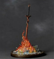 "Dark Souls Bonfire Glow Sword 23cm/9"" PVC Figure Model With LED Ligth New"