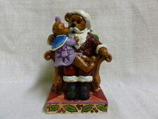 Jim Shore Boyds Santa With Holly Christmas Wishes 4035827 Nib