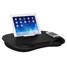 Laptop Cooling Lap Desk For Ipad & Tablets Cushion Base Black Holder Wrist Pads