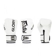 BGVG1 Fairtex X Glory White Sparring Boxing Gloves Muay Thai Sparring Kickboxing