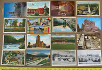 Vintage Pennsylvania Post Cards 30's-70's Ellwood City Turnpike Valley Forge etc