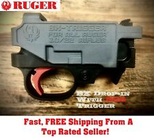 Ruger RED BX TRIGGER Drop In Replacement 10/22 Rifles & 22 Charger Pistols 9A