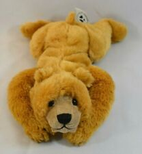 2004 Second Nature Design Simply Irresistible Plush Brown Bear Laying Down 14""