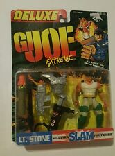 """Kenner G.I. Joe Extreme Deluxe LT Stone With Ultra Slam Firepower 4"""" Inch BNIP"""